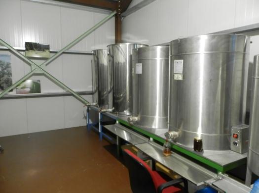 Όψη του εργαστηρίου - συσκευαστήριου μας!